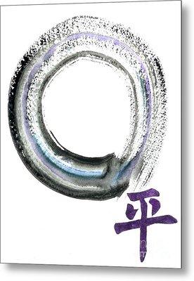 Peace Metal Print by Ellen Miffitt