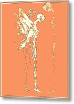 Peace On Earth Metal Print by Emna Bonano