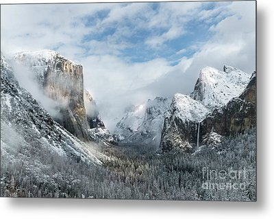 Peaceful Moments - Yosemite Valley Metal Print by Sandra Bronstein