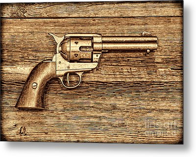 Peacemaker Metal Print by American West Legend By Olivier Le Queinec