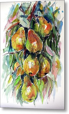 Pear Metal Print by Kovacs Anna Brigitta
