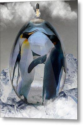Penguin Art Metal Print