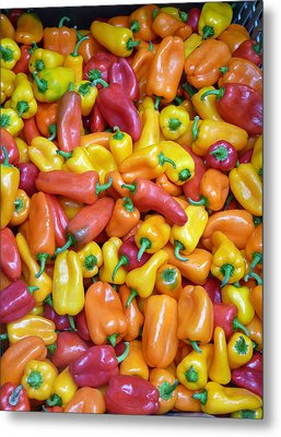 Peppers Metal Print by David Bearden
