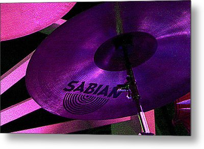 Metal Print featuring the photograph Percussion by Lori Seaman