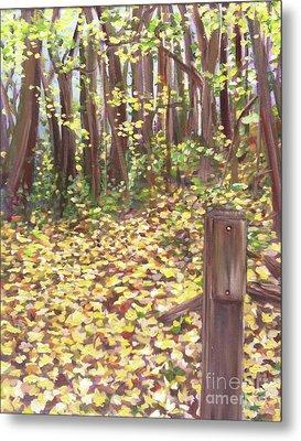 Percy Warner Trees Metal Print by Jessica Peoples