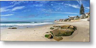 Perfect Day At Horseshoe Beach Metal Print
