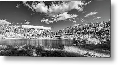 Metal Print featuring the photograph Perfect Lake At Mount Baker by Jon Glaser