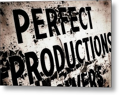 Perfect Productions Metal Print by Gray  Artus