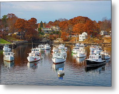 Metal Print featuring the photograph Perkins Cove by Darren White