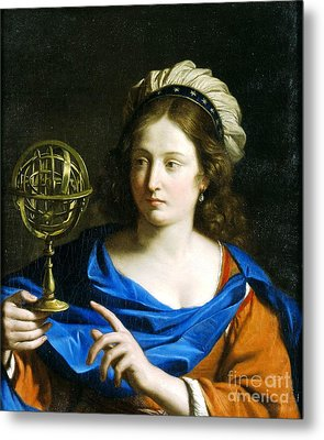 Personification Of Astrology Metal Print by Pg Reproductions