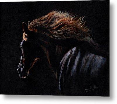 Peruvian Paso Horse Metal Print by David Stribbling