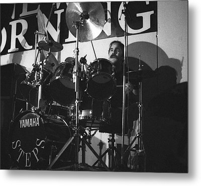Peter Erskine Steps In The Morning Metal Print by Philippe Taka