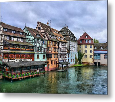 Petite-france, Strasbourg Metal Print by Richard Fairless