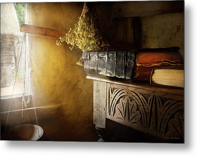 Metal Print featuring the photograph Pharmacy - The Apothecarian by Mike Savad