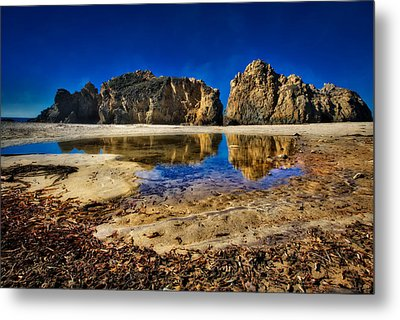Metal Print featuring the photograph Pheiffer Beach #15 - Big Sur, Ca by Jennifer Rondinelli Reilly - Fine Art Photography