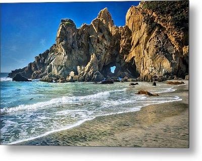 Pheiffer Beach #6 - Big Sur California Metal Print