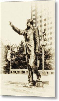 Philadelphia Mayor - Frank Rizzo Metal Print by Bill Cannon
