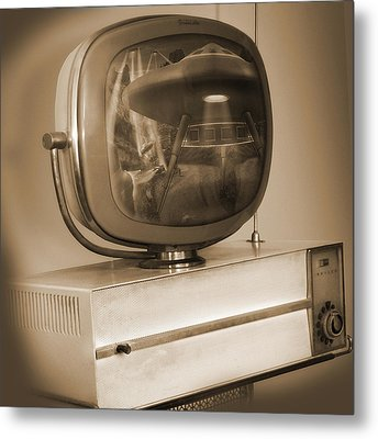Philco Television  Metal Print by Mike McGlothlen