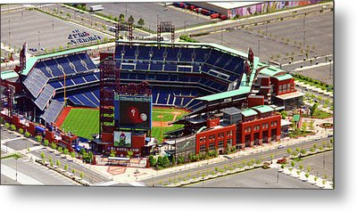 Phillies Citizens Bank Park Philadelphia Metal Print