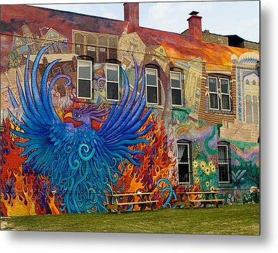 Metal Print featuring the photograph Phoenix Rising by Peter Skiba