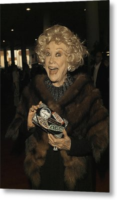 Phyllis Diller Metal Print by Nina Prommer