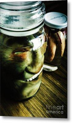 Pickled Monsters Metal Print