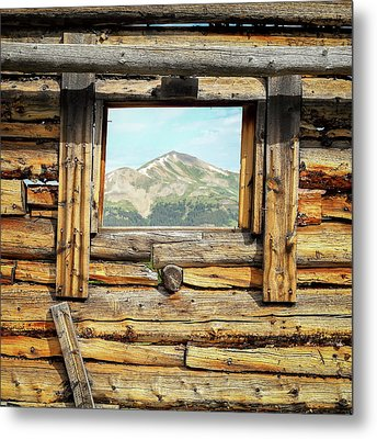 Picture Window #1 Metal Print by Eric Glaser