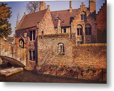 Metal Print featuring the photograph Picturesque Bruges  by Carol Japp