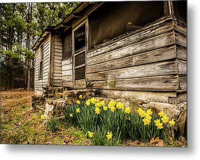 Pieces Of Home Metal Print by Cynthia Wolfe
