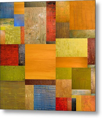 Pieces Project Ll Metal Print by Michelle Calkins
