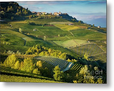 Metal Print featuring the photograph Piemonte Countryside by Brian Jannsen