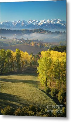 Metal Print featuring the photograph Piemonte Morning by Brian Jannsen