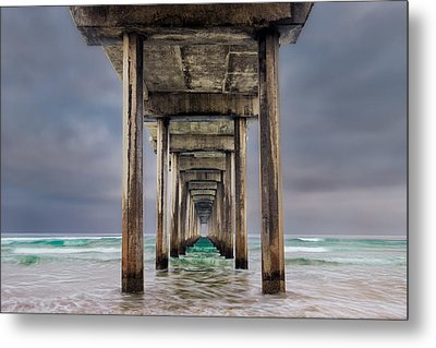 Pier Metal Print by Doug Oglesby