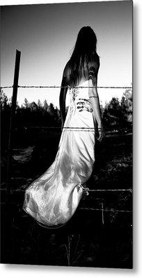 Pierced Dress Metal Print by Scott Sawyer
