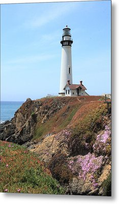 Pigeon Point Lighthouse 2 Metal Print