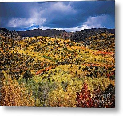 Pikes Peak Autumn Metal Print