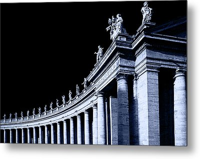 Metal Print featuring the photograph Pillars by Stefan Nielsen