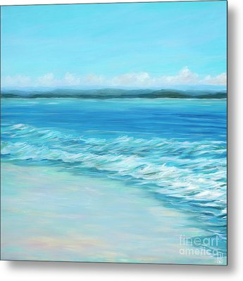 Pink Sands Metal Print by Danielle Perry