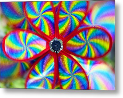 Pinwheel Metal Print by Michal Boubin