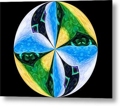 Pinwheel Metal Print by Patric Carter