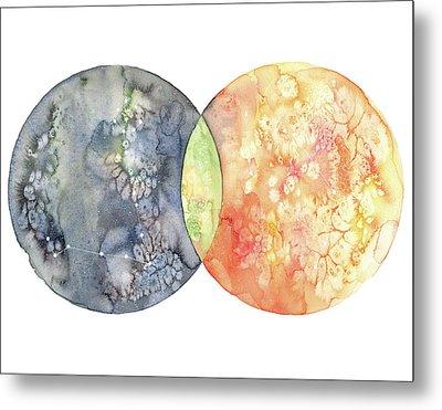 Pisces And Gemini Metal Print by Stephie Jones