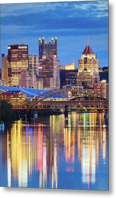 Pittsburgh 2 Metal Print