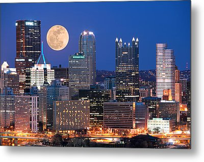 Pittsburgh 6 Metal Print