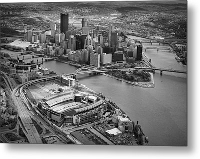 Pittsburgh 9 Metal Print