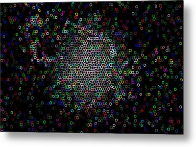 Metal Print featuring the photograph Pixel Mob by Robert Harshman