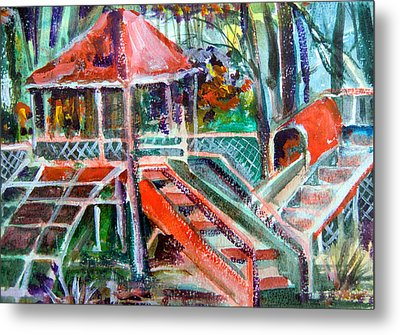 Playground Of The Heart Metal Print by Mindy Newman