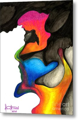 Playing With Colors Metal Print by Fanny Diaz