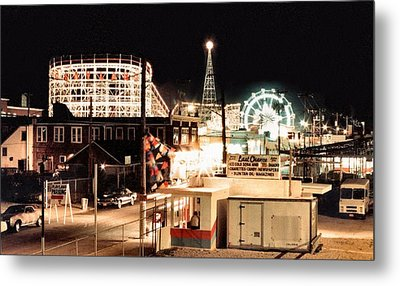 Playland Metal Print by Bruce Lennon
