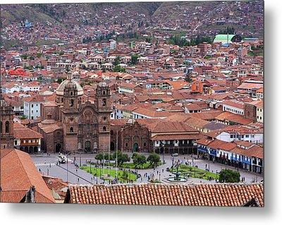 Plaza De Armas, Cusco, Peru Metal Print by Aidan Moran