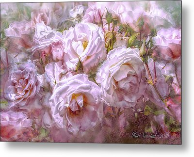 Pocket Full Of Roses Metal Print